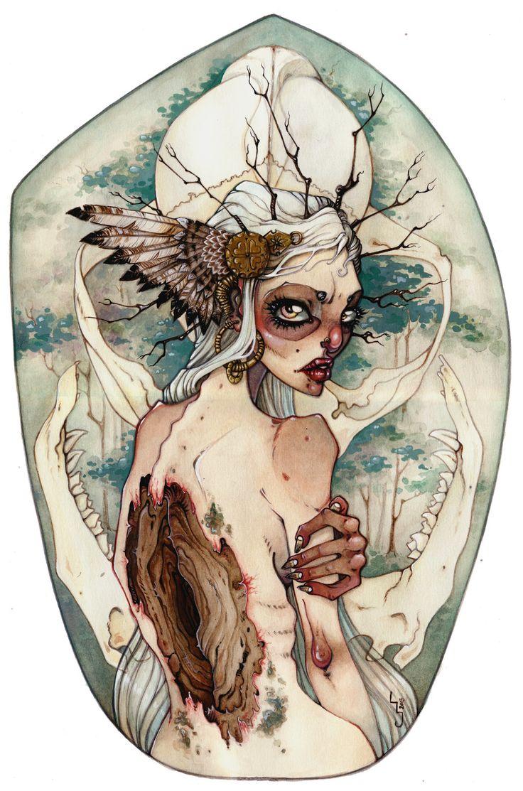Huldra by mjorf.deviantart.com on @deviantART