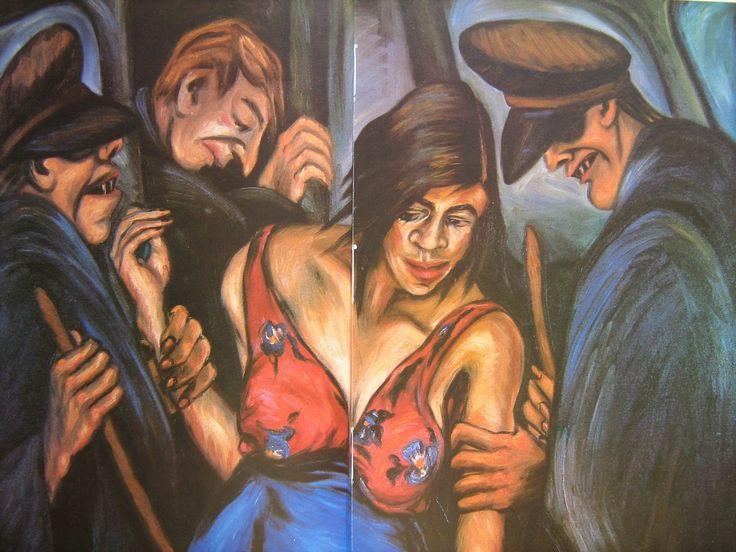 Debora Arango - La justicia o Prostituta detenida por la policía