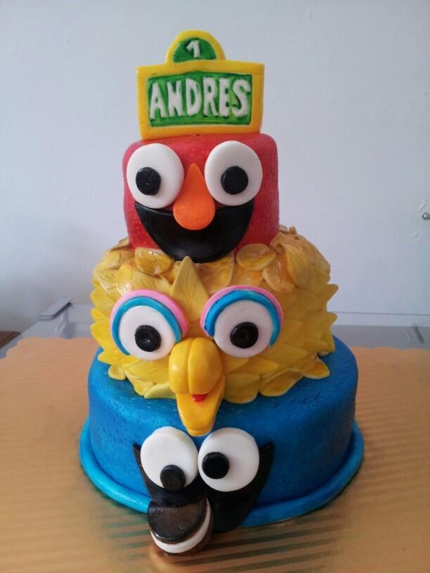 Torta Infantil Plaza Sesamo | Tortas y Gelatinas | Pinterest