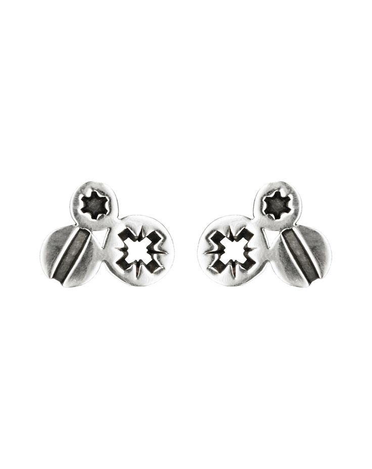 Tripple Screw Earrings - these would also fit nicely in my collection