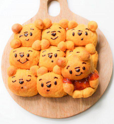 Design culinaire : le chigiri pan se transforme en Winnie l'ourson