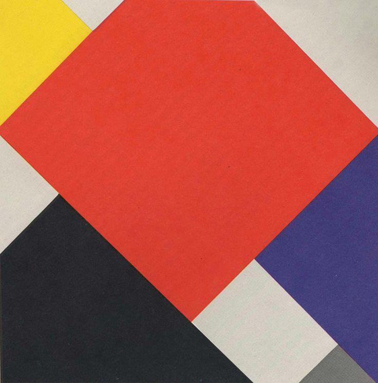 Theo van Doesburg, 1924 Mede oprichter van De Stijl. Later ook docent aan het Bauhaus.