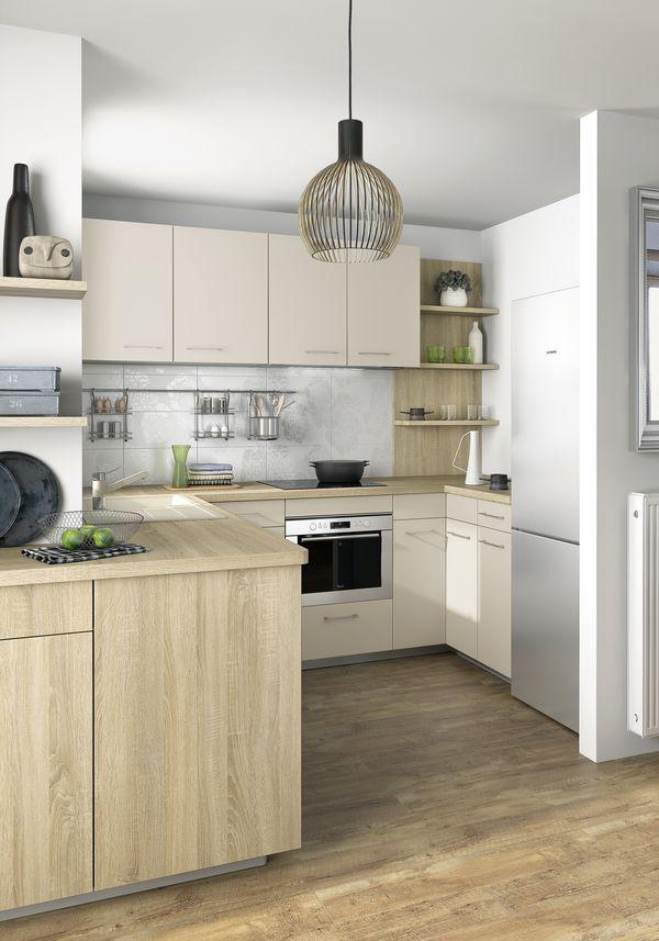 9 best Cuisines, petits espaces images on Pinterest Kitchens - pose d une hotte decorative