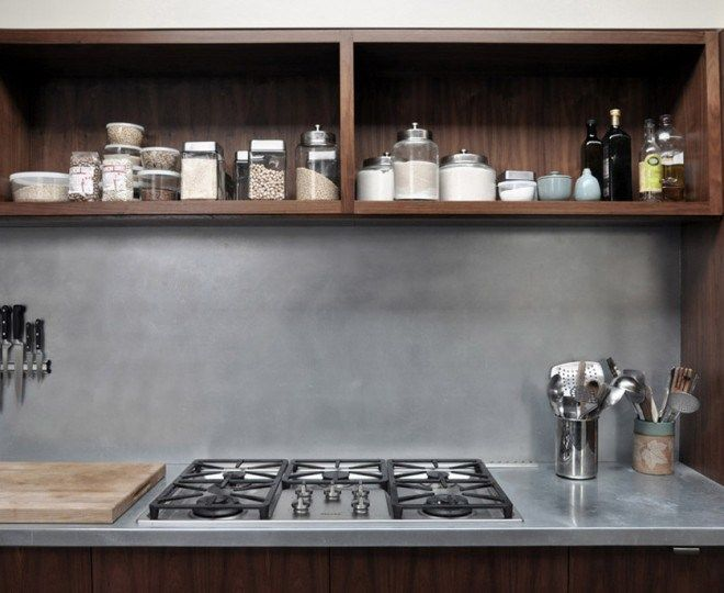 Image result for aging zinc countertop