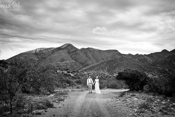 Dramatic scenery at Lynne and JR's Intimate Karoo Farm Wedding. Niki M Photography