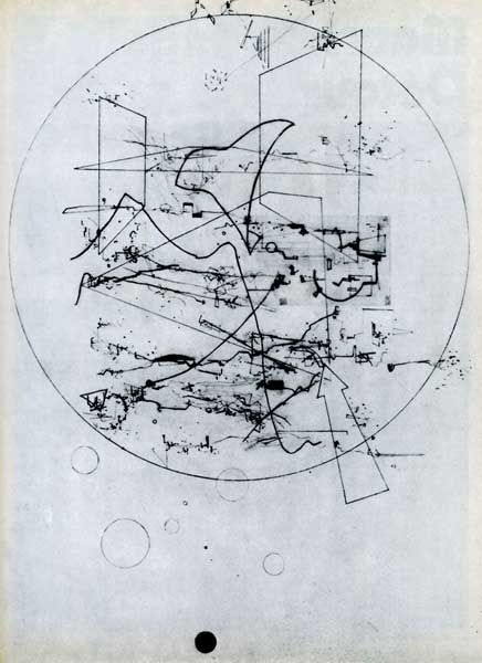 Martin Davorin-Jagodić is a relatively obscure Croatian composer. His recordings are scarce, as he focused mainly in performance, multimedia installations and extremely intricate graphic scores. Thanks to the very recommended avant-garde music blog Continuo-Docs, we discover his notation...