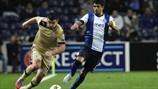 Lucho González (FC Porto) & Fatos Beciraj (GNK Dinamo Zagreb)   Porto 3-0 Dínamo Zagreb. 21.11.12.