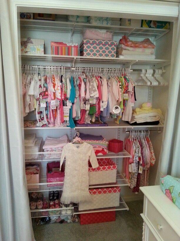 Elfa Closet System Nursery Pinterest Elfa Closet
