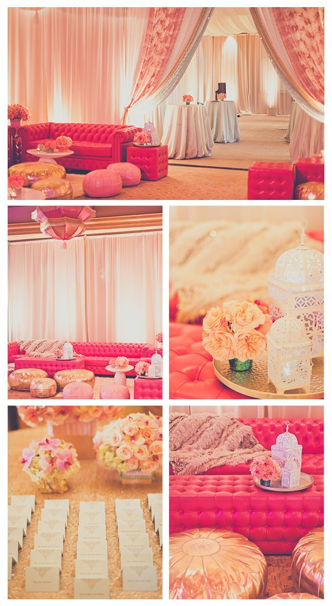 Moroccan wonderfulness... Wedding or party decor, this is gorgeous!