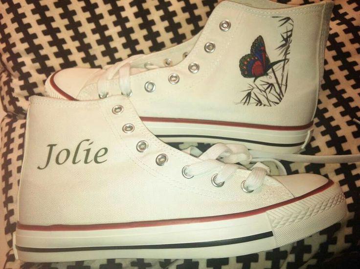 Zapas Jolie & mariposa