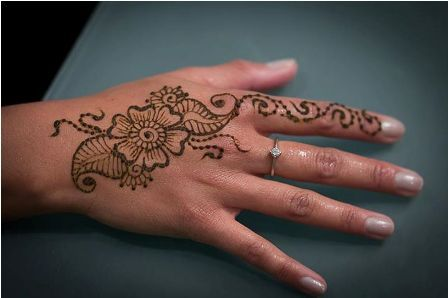 17 best ideas about henna flower designs on pinterest