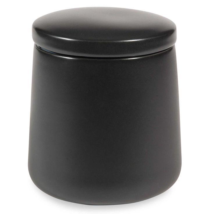 Vaso in porcellana nera LAGOS