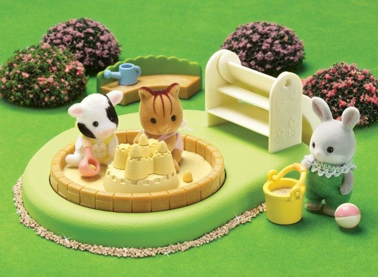 Calico Critters 2681 Baby Pool & Sand Box | eBay