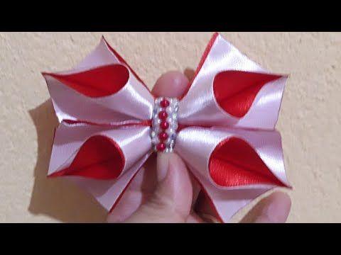 Цветок на подарок МК/ DIY Flower for a Christmas present/Flor para um presente de natal PAP #89 - YouTube