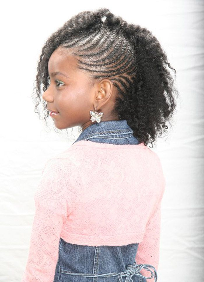 Cute braided mohawk for kids | natural hairstyles | Pinterest