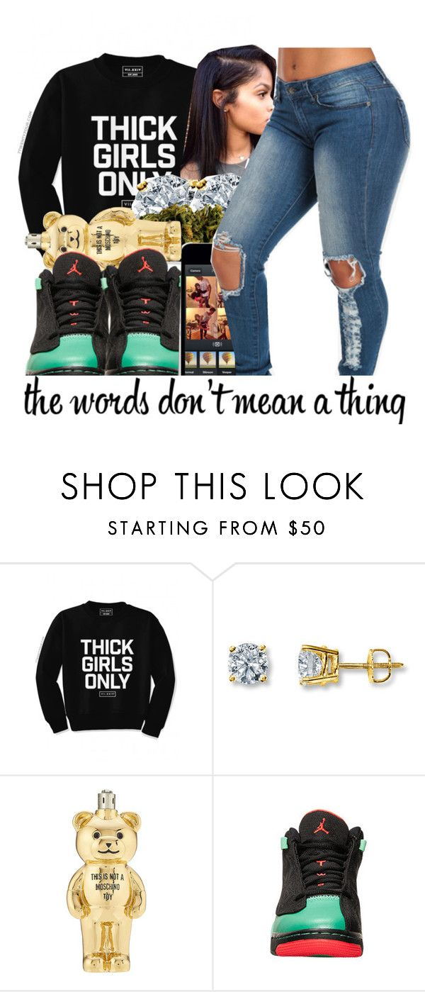 """""""My Beyonce//Lil Durk&Dej Loaf"""" by babygirl-10 ❤ liked on Polyvore featuring Moschino"""