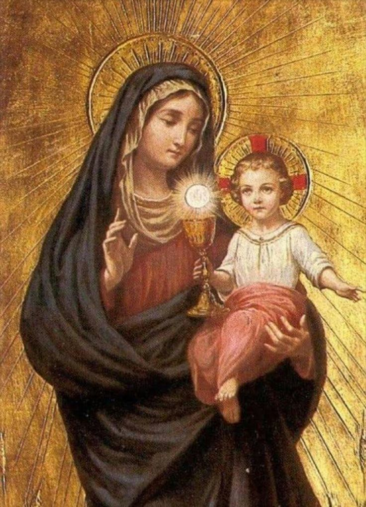 Blessed Mother Mary And Jesus 804 best Mary, ...