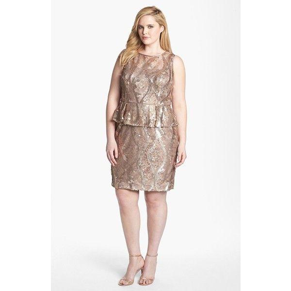 Best 25+ Plus size sequin dresses ideas on Pinterest