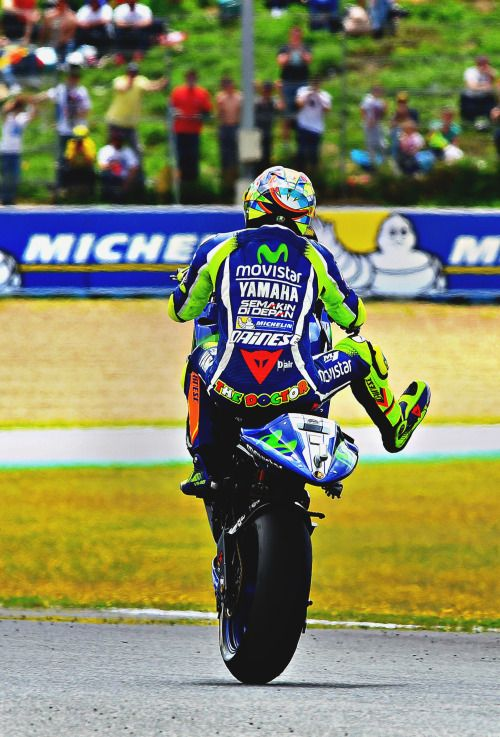 Valentino Rossi Jerez Victory 2016
