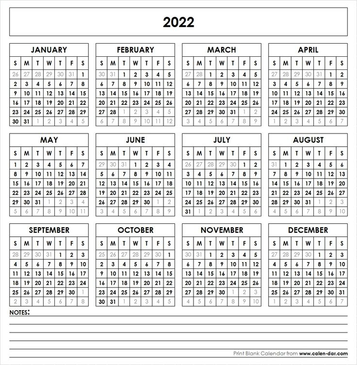 If you want to download other formats such as pdf, excel, word doc then you can contact our team. 2022 Printable Calendar   Yearly calendar template ...