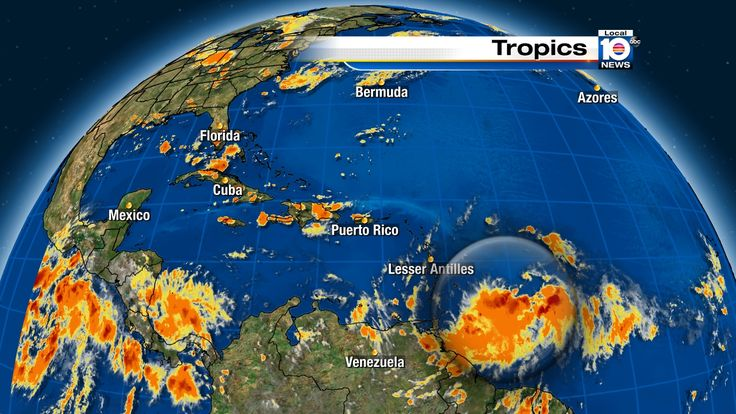 National Hurricane Center monitors potential threat in Atlantic Ocean | Weather/Traffic  - Home