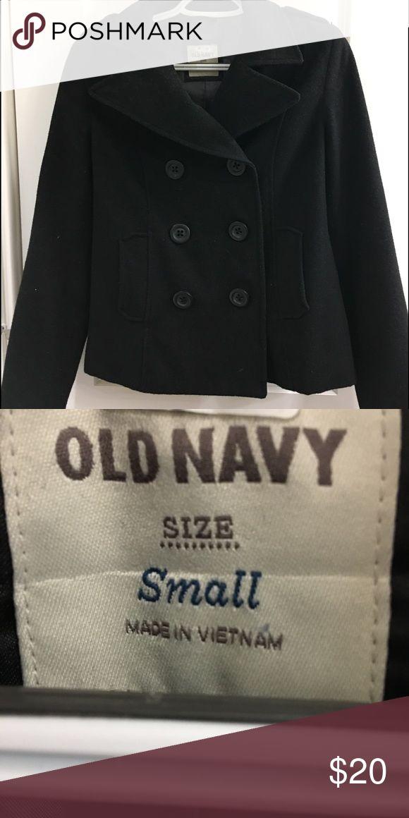 Black Pea Coat Old Navy Pea Coat Old Navy Jackets & Coats Pea Coats