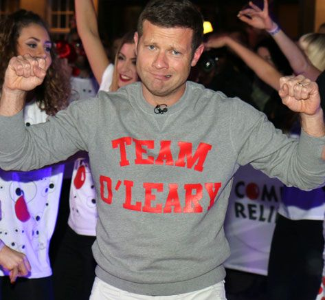 Dermot O'Leary cleared over swearing by Ofcom The presenter used offensive language before the watershed, 18 hours into his danceathon for Comic Relief  Dermot's Saturday Sessions Big Brother cleared by Ofcom Minions tops US box office