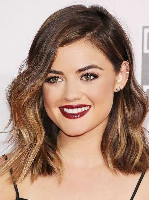 Mechas tiger eye: La nueva tendencia para morenas [FOTOS] - Mechas tiger eye de Lucy Hale