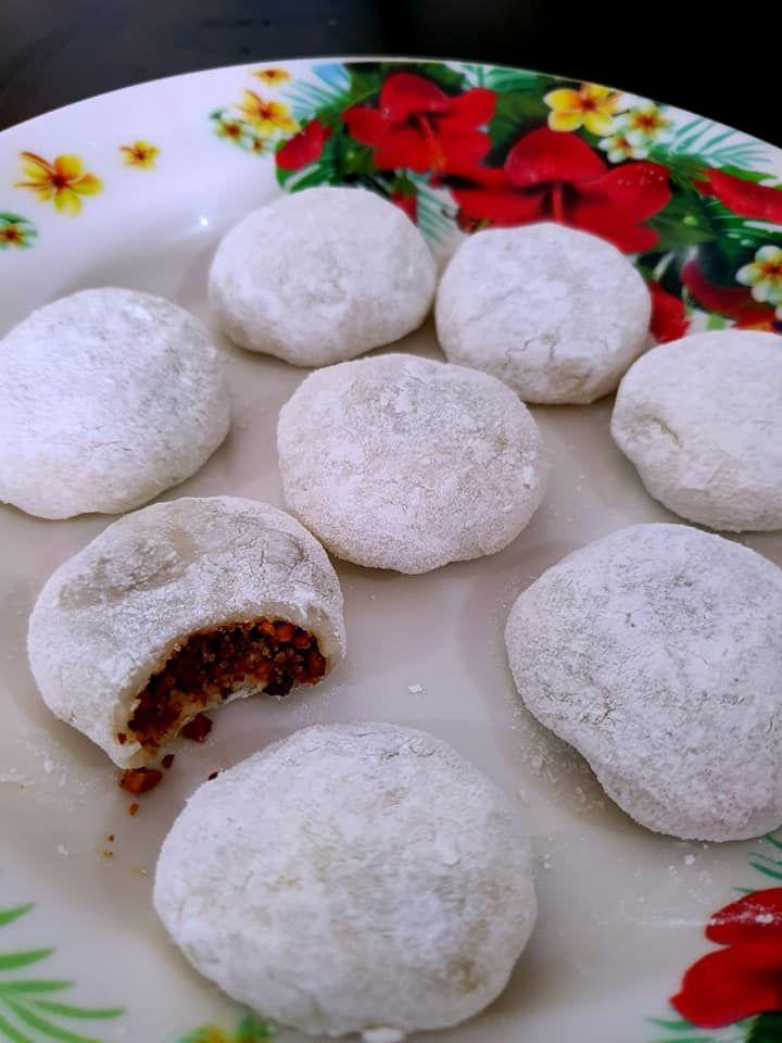 Resepi Kuih Mochi Chinese Style Yang Mudah Ringkas Dan Cepat Mochi Food Chinese Style