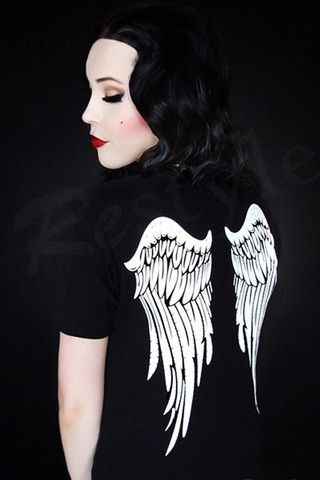Angel Wing T-Shirt. https://www.galleryserpentine.com/collections/tops