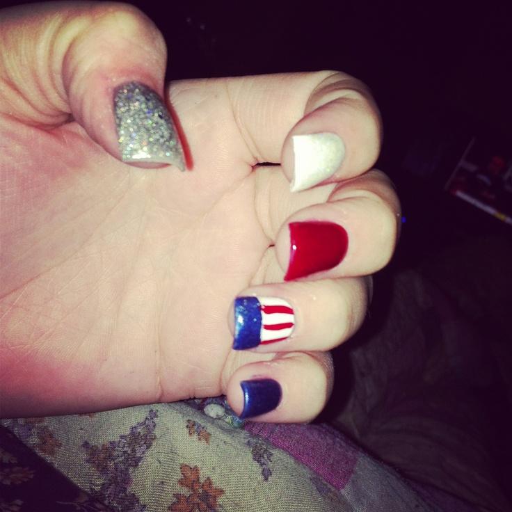 memorial day nails diy