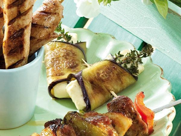Vegetarisch grillen: Rezepte aus dem Brutzel-Beet - aubergine-feta2 Rezept