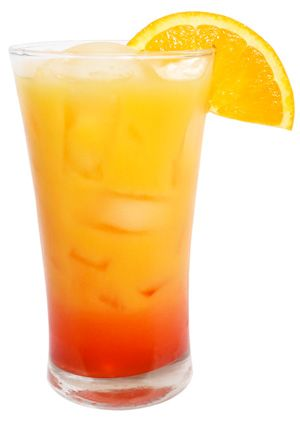 Cocktail idea: Jingle Juice (made with tangerine vodka!) <-- OMG, yum! This would even be fun for brunch?!