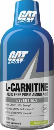 GAT L-Carnitine Green Apple 16 Fl. Oz. GAT4510094 Green Apple - A Versatile Supplement For Athletes Looking To Improve Athletic Performance