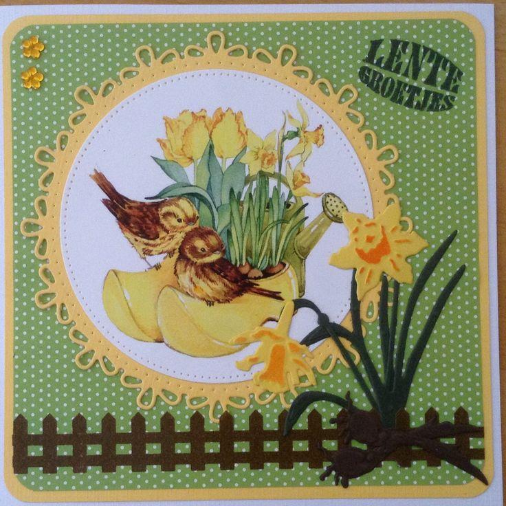 Lentexxxjes is groen en geel met narcissen naar Turkije