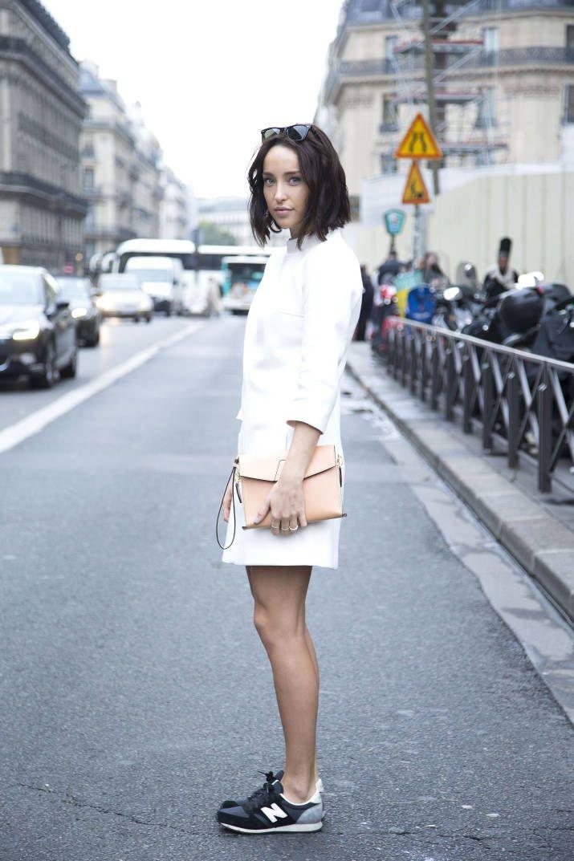 How To Wear Chanel Sneakers - Fashionable Sneakers - Harper's BAZAAR Magazine
