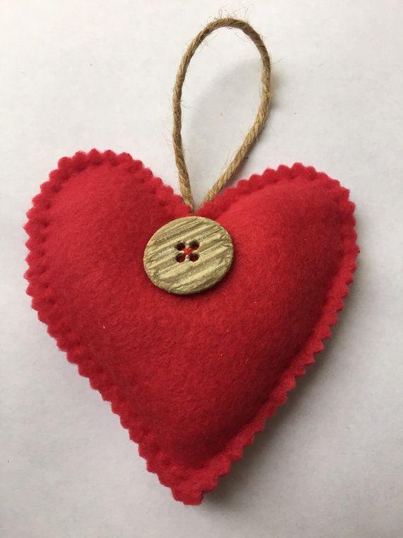 Lavender heart by HeartFeltCraft1 on Etsy