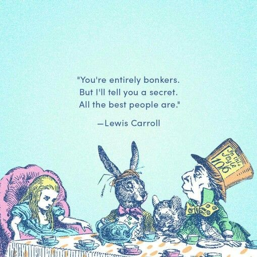 Lewis Carroll                                                                                                                                                                                 More