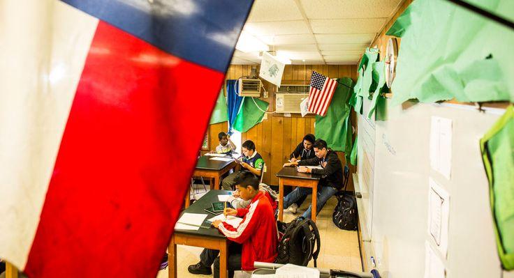 Houston's Learning Curve - Patrick Michels - (POLITICO Magazine) Las Américas Newcomer School