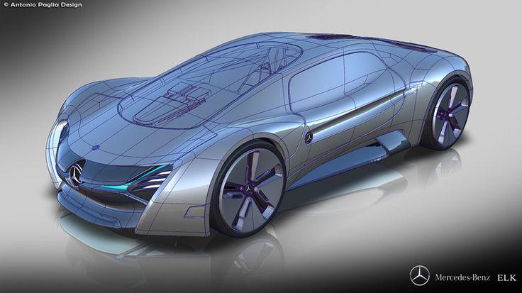 Электрический суперкар от Mercedes-Benz - автомобиль будущего