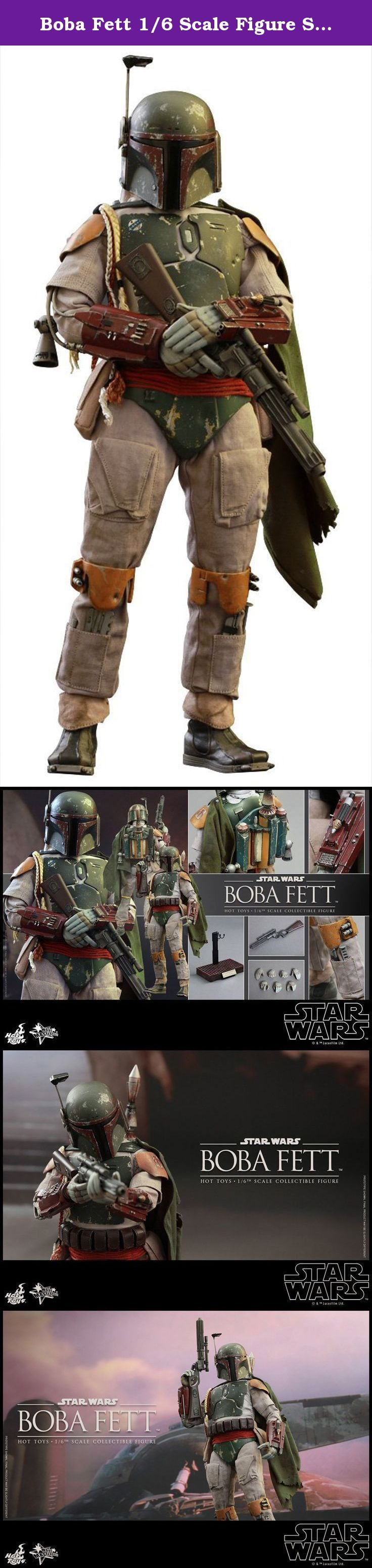 Boba Fett 1/6 Scale Figure Star Wars Episode VI Return of the Jedi Hot Toys. Equipped with customized Mandalorian armor and deadly skills, Boba Fett is a fearsome bounty hunter in the Star Wars galaxy, but also one of the most popular characters among fans!Sideshow Collectibles and Hot Toys are excited to officially present the new Boba Fett Sixth Scale Collectible Figure based on Star Wars: Episode VI Return of the Jedi!The highly-accurate collectible figure is specially crafted based on...