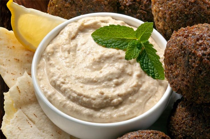Falafel mit Hummus