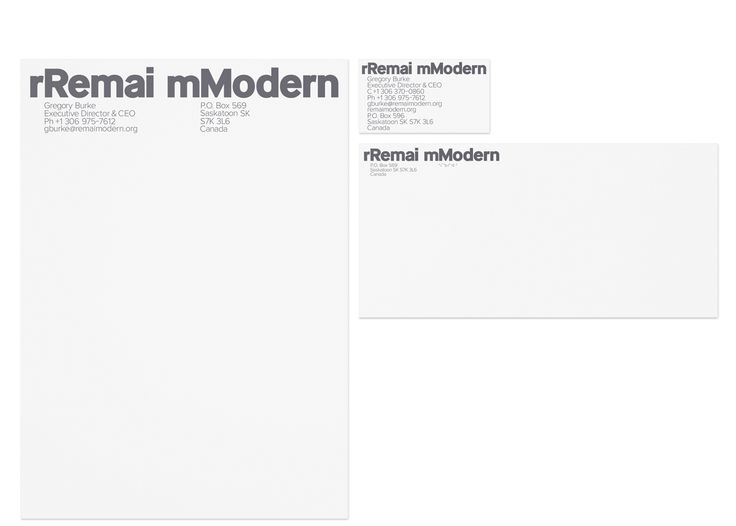 Remai Modern Identity | WELCOME TO COLOR & hello to karlssonwilker (V)