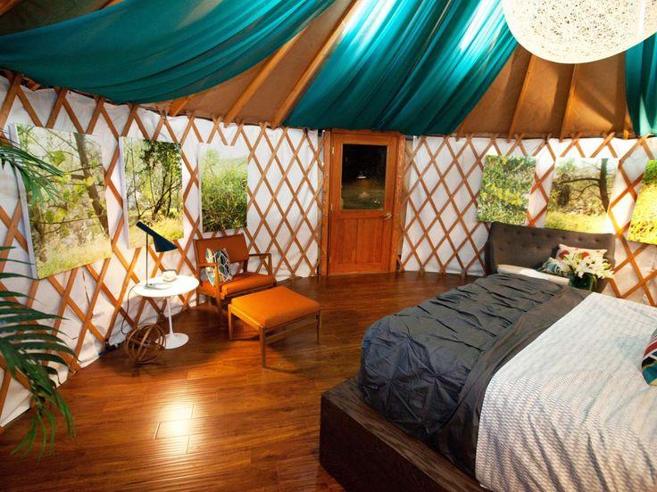 39 best yurt interiors images on pinterest | yurt interior, yurts