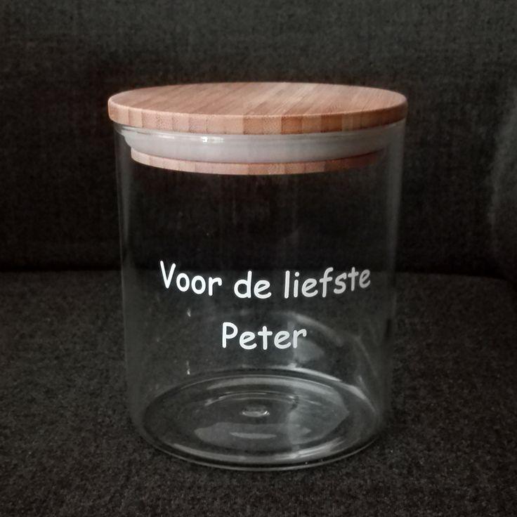 De liefste peter verwennen? Met deze snoeppot lukt dat zeker! Een geschenk voor hem om van te smullen! SNELLE levering-VEILIG betalen