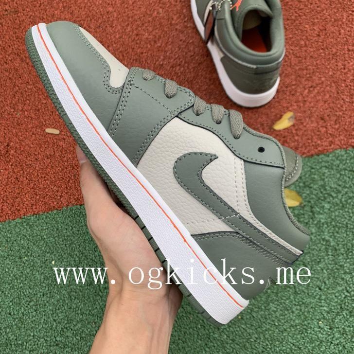 Air Jordan 1 Low Military Green 553558