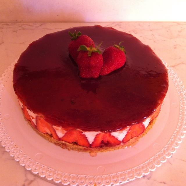 Cheesecake alle fragole per Francesca