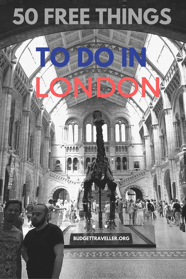 50 Free Things to Do in London, UK | by Kash, the Budget Traveller - Travel in Style on a Budget