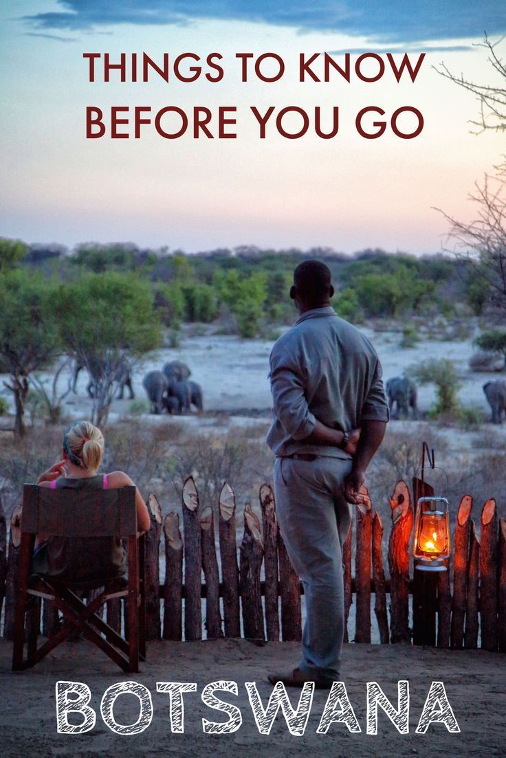 Going to Botswana and don't know much about the country? Read on for 10 things to know before you travel to Botswana.