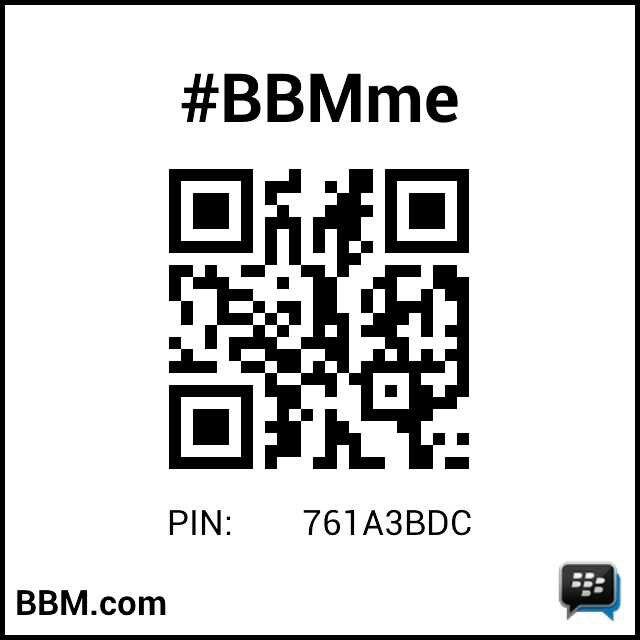 Invite my bb pin